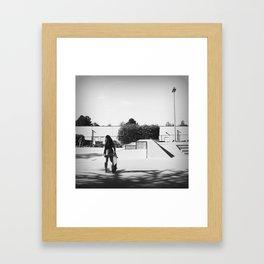 Next On Deck Framed Art Print