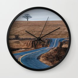 Before the Green Wall Clock