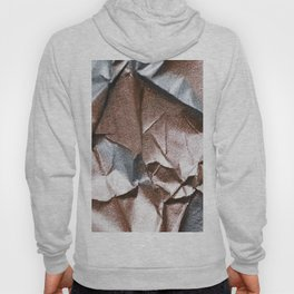 Rose Gold and Silver Abstract Hoody