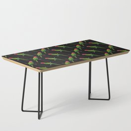 Parrot Pattern Coffee Table