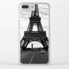 The Eiffel Tower Clear iPhone Case