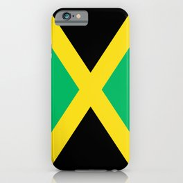 Jamaican national flag iPhone Case