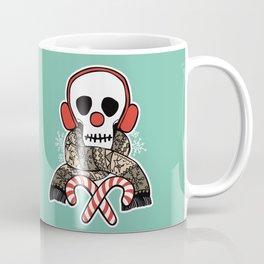 Stay Warm Holiday Skull Coffee Mug
