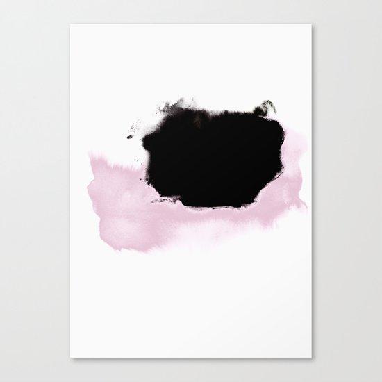 Pink to Black Canvas Print