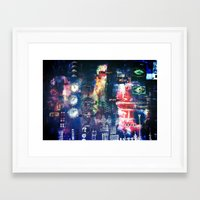 industrial Framed Art Prints featuring industrial by Hamster&hearts