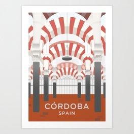 Córdoba Art Print Art Print