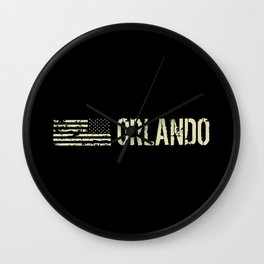 Black Flag: Orlando Wall Clock