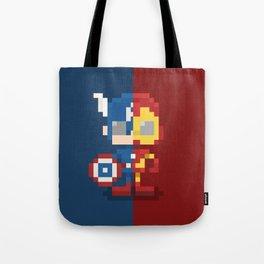 Civil Pixel War Tote Bag