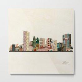 toledo city skyline Metal Print