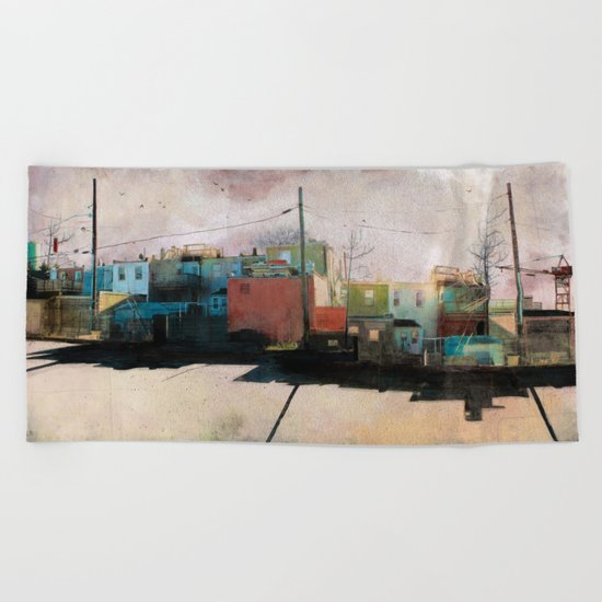Charm City, MD Beach Towel