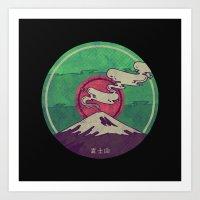 Mt. Fuji Art Print