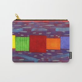 Colorful piled Cubes within free Painting Carry-All Pouch