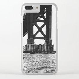 Golden Gate Bridge, Base Clear iPhone Case