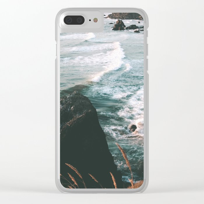 Oregon Coast IV Clear iPhone Case