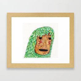 Wood Spirit Framed Art Print