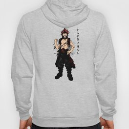 Red Riot Ink Hoody
