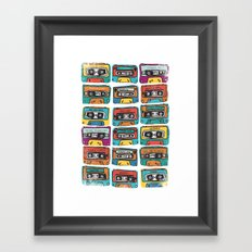 MIXTAPE - ANALOG zine Framed Art Print