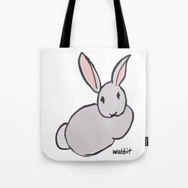 Wabbit Wondering All Alone in the World Tote Bag