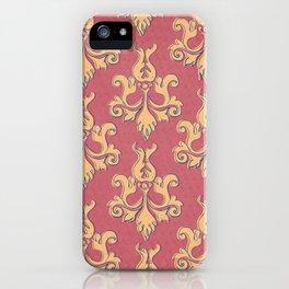 Corner Cafe Wallpaper iPhone Case