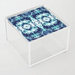 Celestial Nouveau Tie-Dye Acrylic Box