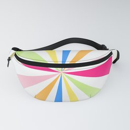 Spinning Wheels Fanny Pack