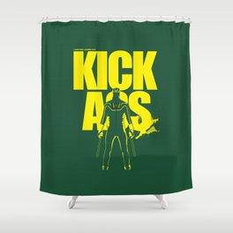 KICK ASS Shower Curtain