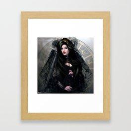 CAPRICORN BRIDE Framed Art Print