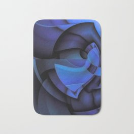 Blue Style Bath Mat