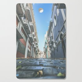 Puerto Rico Streets Cutting Board