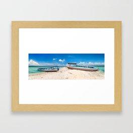 Bali Beach Framed Art Print
