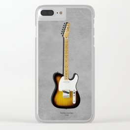 The 58 Telecaster Clear iPhone Case