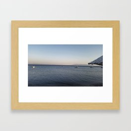 Beach in Turkey Framed Art Print