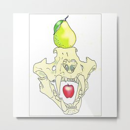 Apples & Pears Metal Print