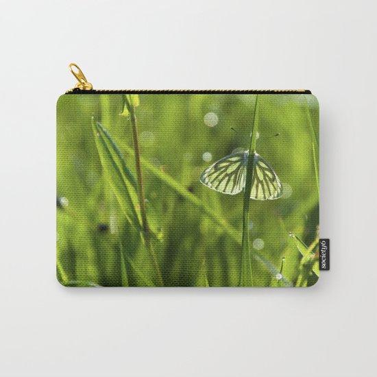 Butterfly in fresh morningmeadow Carry-All Pouch