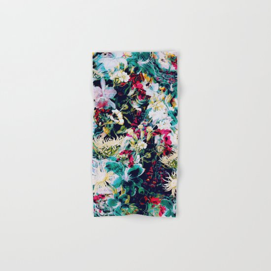 RPE ABSTRACT FLORAL -IV Hand & Bath Towel