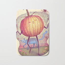 Mr. Pumpkin Bath Mat