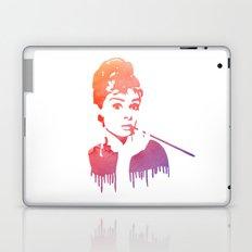 Audrey Hepburn Breakfast At Tiffany's Laptop & iPad Skin