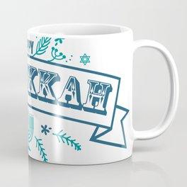 The first day of Hanukkah Coffee Mug