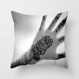 the protected child Throw Pillow
