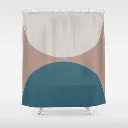 Abstract Geometric 23 Shower Curtain