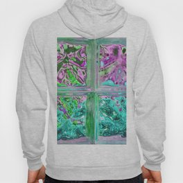 505 - Abstract Glass Design Hoody