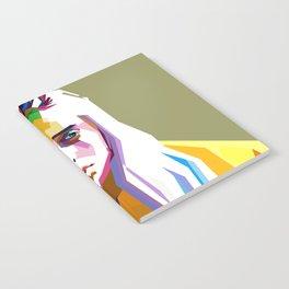 Billie Eilish - pop art Notebook
