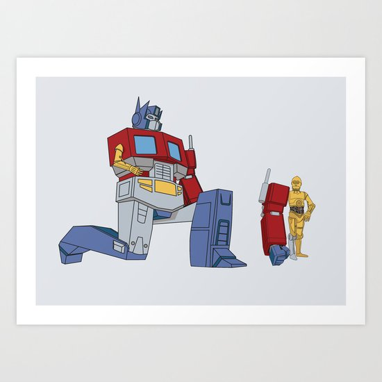Not the Parts they were looking for... Art Print