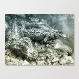 Lords of Miami Canvas Print