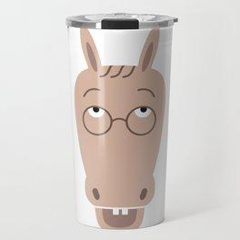Sluggish Donkey Travel Mug