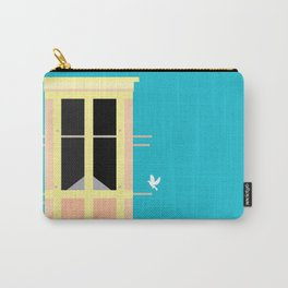 Wind-towers of Bastakiya by Dubai Doodles 010 Carry-All Pouch