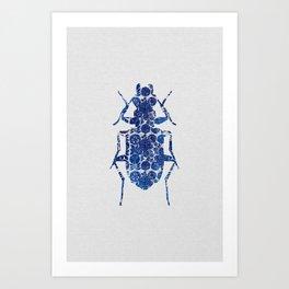 Blue Beetle II Art Print