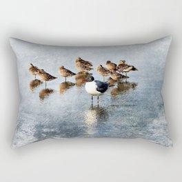 Vive La Difference Rectangular Pillow