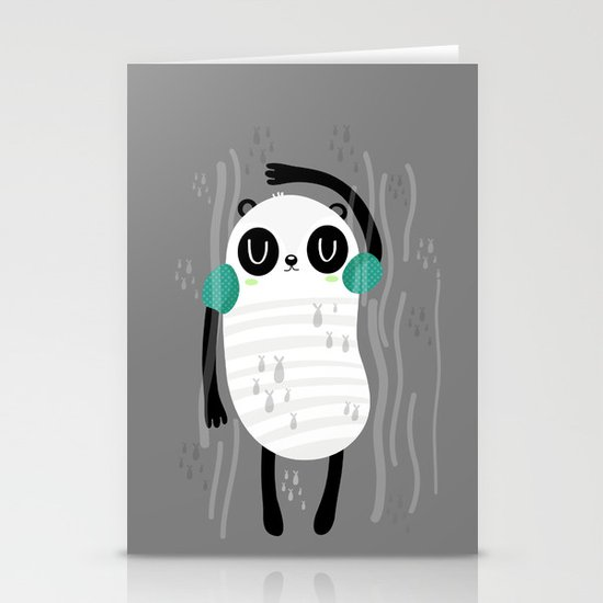 Contra corriente Stationery Cards