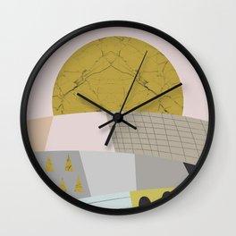 Little hills Wall Clock